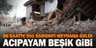 5.5'lik depremin ardından Denizli beşik gibi