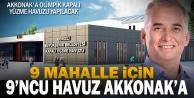 Akkonak'a olimpik kapalı yüzme havuzu