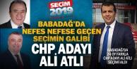 Babadağ'da CHP'li aday Atlı 24 oy farkla kazandı