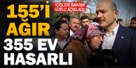 Bakan Soylu, depremin vurduğu Denizli'de