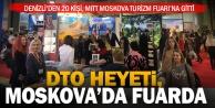 Denizliden 20 Kişi, MITT Moskova Turizm Fuarına gitti