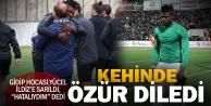 Denizlispor#039;da Kehinde özür diledi