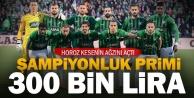 Denizlispor#039;da şampiyonluğa #039;Süper#039; prim