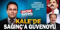 Kale'de Ak Parti adayı Sağınç tekrar başkan