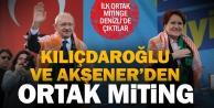 Kılıçdaroğlu ve Akşener, ilk ortak miting için Denizli#039;de