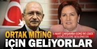Kılıçdaroğlu ve Akşener ortak miting için Denizli#039;ye geliyor
