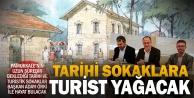 Pamukkale'nin tarihi sokaklarına turist yağacak