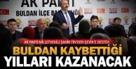 Tin Buldan'da vatandaşlarla buluştu: Buldan, kaybettiği yılları kazanacak