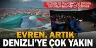 Türkiyenin sayılı gezegen evlerinden biri artık Denizlide