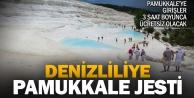 17 Nisan günü Pamukkaleye girişler 3 saat boyunca ücretsiz