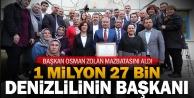 1 milyon 27 bin vatandaşımızın Büyükşehir Belediye Başkanıyım
