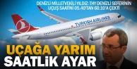 Ak Parti Milletvekili Yıldız: THY uçuş saatini yarım saat öteledi