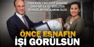 Başkan Örki, imzaladığı ruhsatları esnafa kendisi teslim etti