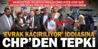 CHP ilçe başkanından Merkezefeni Belediyesi önünde 'evrak kaçırma' açıklaması