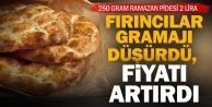 Denizli'de 250 gram Ramazan pidesi 2 TL