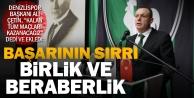 Denizlispor#039;da Başkan Çetin geri sayımda
