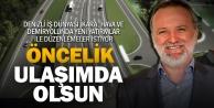 DESİAD Başkanı Konyalıoğlundan ulaşım istekleri