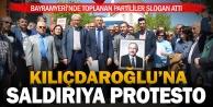 Kılıçdaroğlu#039;na yapılan saldırıya Denizli#039;de protesto