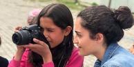 Köy Okulunda fotoğraf eğitimi