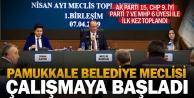 Pamukkale Belediye Meclisi ilk toplantısını yaptı