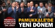 Pamukkale'nin yeni Belediye Başkanı Avni Örki göreve başladı