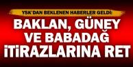 YSK, Baklan, Babadağ ve Güney için yapılan itirazları reddetti