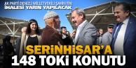 Ak Parti Milletvekili Tin'den Serinhisar'a TOKİ müjdesi