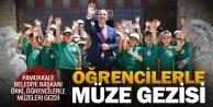 Başkan Örki öğrencilerle müzeleri gezi