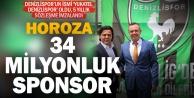Denizlispor#039;a yeni sponsor