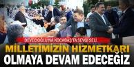 Devecioğlu'na Kocabaş'ta sevgi seli