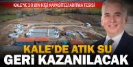 Kale'de atık su sorunu son bulacak