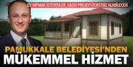 Pamukkale'nin 16 mahallesine ücretsiz ev projesi