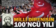 Türkiyede işgale karşı ilk miting Denizlide yapıldı