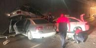 Denizli#039;de zincirleme kaza: 4 yaralı