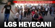 Denizlide 12 bin 600 öğrenci LGS heyecanı yaşadı