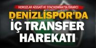 Denizlispor#039;da iç transfer harekatı