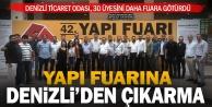 DTO üyeleri İstanbulda yapı fuarına gitti