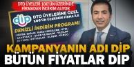 DTO üyelerine özel indirim kampanyası: DİP