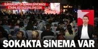 Karakurtta sokak sinemasıyla nostalji yaşatılacak