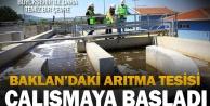 Büyükşehir'in Baklan'da yaptığı arıtma tesisi çalışmaya başladı