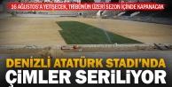 Denizli Atatürk Stadında sona gelindi