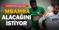 Denizlispor#039;da Mbamba da TFF#039;ye başvurdu