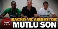 Denizlisporda Sacko ve Aissati imzayı attı