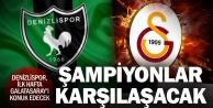 Denizlisporun Süper Ligdeki fikstürü belli oldu