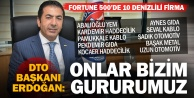 Fortune 500'deki 10 Denizlili'den 9'u DTO Üyesi