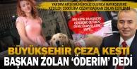 Hayvanseverin mühürsüz yardım afişine kesilen cezayı Başkan Zolan üstlendi