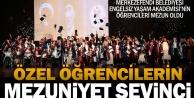 Merkezefendi Belediyesi Engelsiz Yaşam Akademisi'nin özel öğrencileri mezun oldu