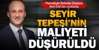Pamukkale Belediyesi'nin Seyir Tepesi projesinde revizyon yapıldı