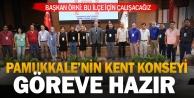 Pamukkale Kent Konseyi Başkanı Ayhan Soyfidan oldu