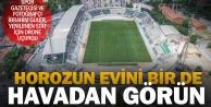 Yenilenen Atatürk Stadının havadan görüntüleri